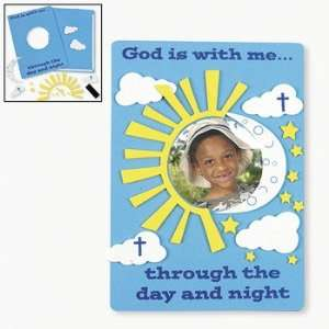 God Is With Me Photo Frame Magnet Craft Kit   Craft Kits