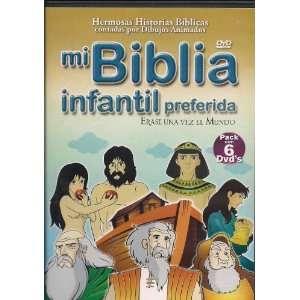 MI BIBLIA INFANTIL PREFERIDA ERASE UNA VEZ EL MUNDO 6 PACK