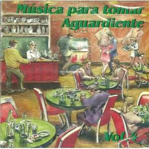 CD POPULAR MUSICA PARA TOMAR AGUARDIENTE VOL. 4 VARIOUS