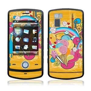 com I Love Ice Cream Decorative Skin Cover Decal Sticker for LG Shine