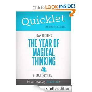 Quicklet on The Year of Magical Thinking by Joan Didion (Book Summary