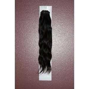 14 inch Indian Remy Hair #1B Natural Wave 100% REAL HUMAN HAIR Beauty