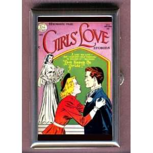 BOOK GIRLS LOVE Coin, Mint or Pill Box Made in USA