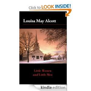 Little Women and Little Men: Louisa May Alcott:  Kindle