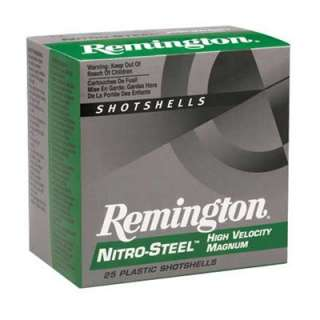REMINGTON NITRO STEEL HIGH VELOCITY MAGNUM SHOTSHELLS   Brownells
