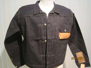 Vintage Levi BIG E Jacket 1936 506xx NEW w TAGS 44