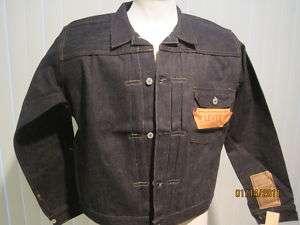 Vintage Levi BIG E Jacket 1936 506xx NEW w TAGS 44