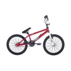 Raleigh Burner Chaos Boys / Girls BMX Bike in Red. 360 Degree Gyro