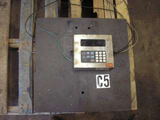 GSE digital readout scale 550 PH 1 115 V