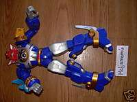Morphin Power Rangers Blue Zord 11 Inches Bandai 2002 Lights Noise