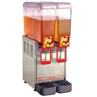 Cecilware 20/2PD   Cold Beverage Dispenser, 2 Bowl, 110v