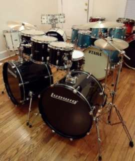 LUDWIG Accent CS Combo Double Bass 7 Piece Drum Set