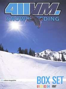 411VM Snowboarding   Box Set Issues 1 4 DVD, 2002, 4 Disc Set