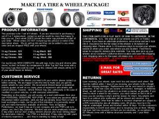 Method MR303 17x8.5 Black Wheel Blanks All Truck/SUV |