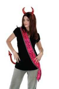 Wedding Naughty Girl Bachelorette Party Sash