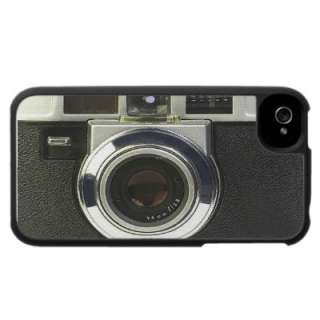 Custom design iPhone case with a cool photo of vintage camera!