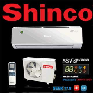 TON SHINCO SPLIT AIR CONDITIONER INVERTER HEAT PUMP 893088000112