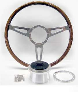 Shelby Cobra Replica Steering Wheel and Hub Kit AC