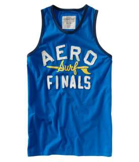 Aeropostale mens Aero Surf Finals Sleeveless Tank