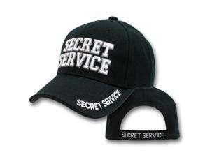 Delux Military Law Enforcement Cap Hat   SECRET SERVICE