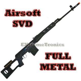 Airsoft AGM SVD Dragunov Bolt Action Sniper Rifle Gun