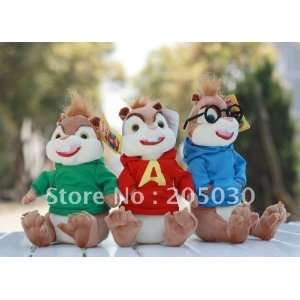 new arrival toys plush toys alvin and the chipmunks for christmas toys