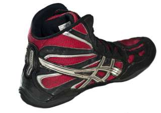 B1) vtg ASICS SPLIT SECOND WRESTLING red SHOES mens split sole mma