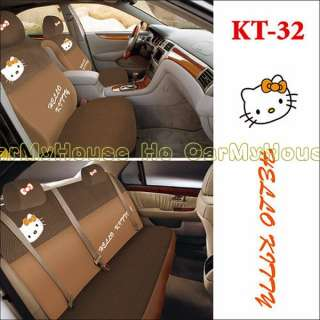 Hello Kitty Thick Car Seat Cover Set 10 pcs KT32
