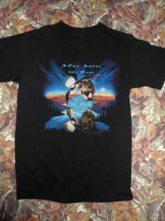 Motor Cycles 1997 T shirt LAS VEGAS NEVADA WOLF EAGLE MOUNTAINS