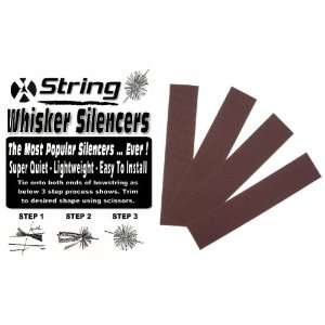 BROWN COLOR   ARCHERY BOWSTRING WHISKER STRING SILENCERS 2