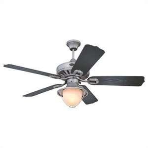 Lighting 52 Lafayette Indoor Outdoor Ceiling Fan in Antique Pewter