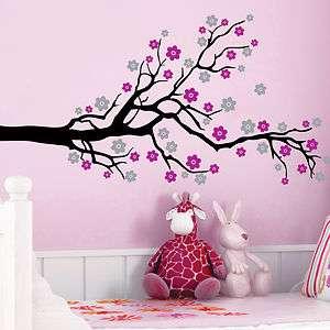 CHERRY BLOSSOM TREE FLOWERS **** Vinyl Wall Decals Sticker Art