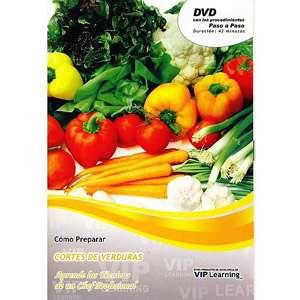 Como Preparar Cortes De Verduras: Aprende Las Teenicas De Un Chef