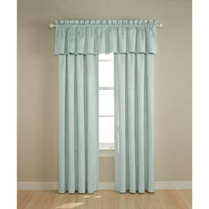 Darkness   Suede Black Out Curtain Panel, Baby Blue Bedding & Decor