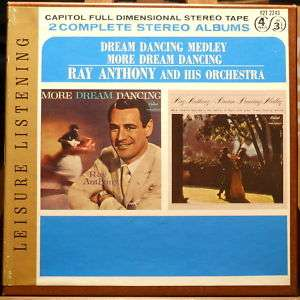 RAY ANTHONY / MORE DREAM DANCING(DBL) REEL TO REEL TAPE