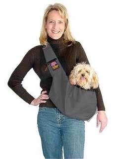 Sling Dog Carrier Black Nylon   Outward Hound Kyjen Travel Bag Up to