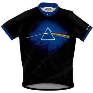 Primal Wear Mens Pink Floyd DSOTM 30th Anniversary Rock Short Sleeve