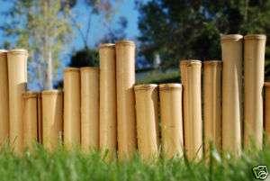 16 Bamboo Garden Border Edging Commercial Natural