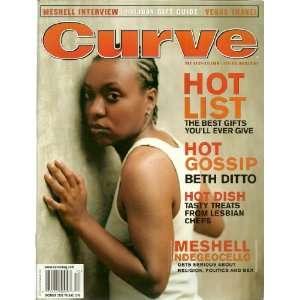 Beth Ditto / Meshell Ndegeocello ~ Curve Magazine