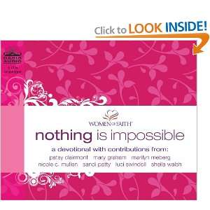 nothing is impossible women of faith thomas nelson and over