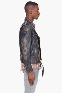 Marc Jacobs Leather Horseskin Jacket for men
