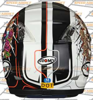Suomy 2010 Vandal Mirror Full Face Helmet MD