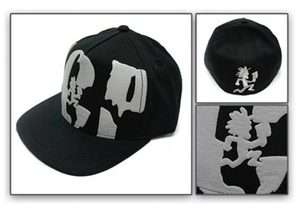 ICP Hats INSANE CLOWN POSSE Hatchet Concert Flex Fit Flat Bill Cap Hat