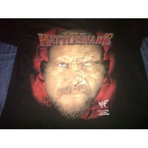Stone Cold Steve Austin Large Black T Shirt The Rattlesnake Austin