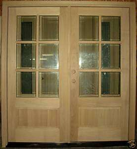 Pre hung double entry doors on popscreen for Double hung exterior french doors