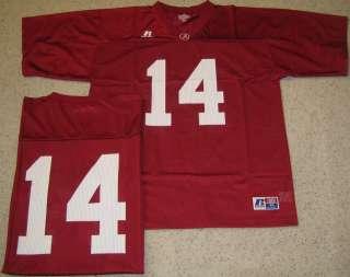 Alabama Crimson Tide Football Jersey XL Burg 14