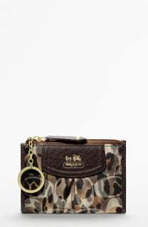 COACH MADISON ANIMAL PRINT MINI SKINNY