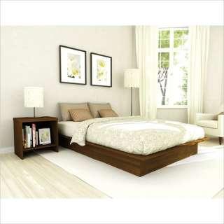 Sonax Cont Full Platform Bed Maple 2 PC Bedroom Set