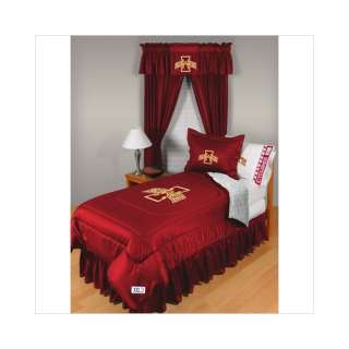 Sports Coverage Iowa State University Comforter   Full/Queen Sports