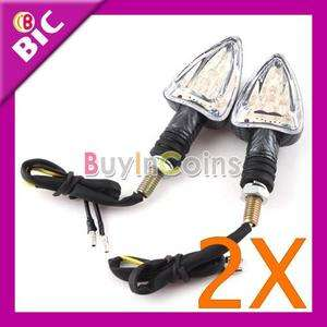 Motorcycle Led Mini Arrow Carbon Indicator Light Bulb